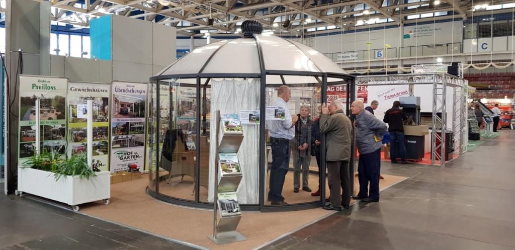 runder-pavillon-grau-4m-kuppeldach